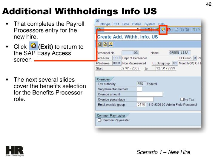 Additional Withholdings Info US
