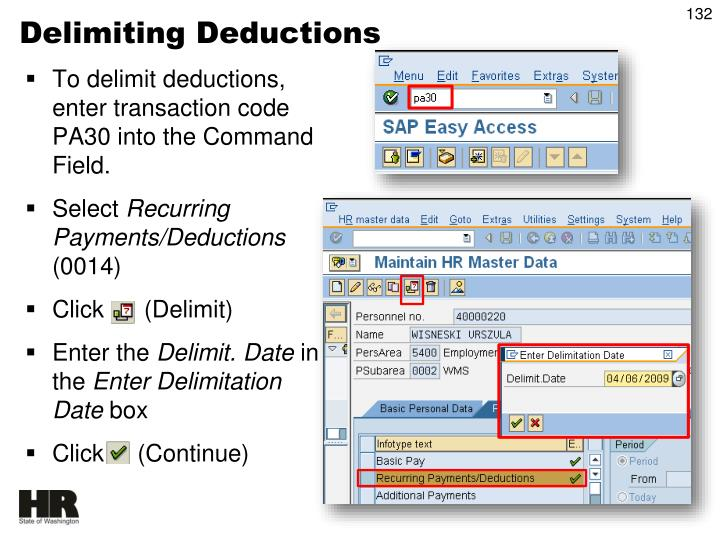 Delimiting Deductions