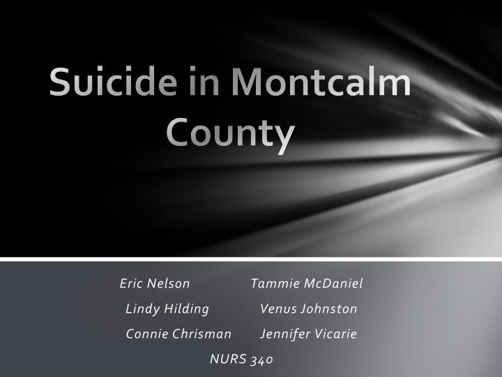 suicide in montcalm county n.