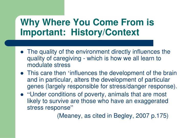 why is context important in the Chapter 12 question 2: why do you think it is important to understand the context of the object being evaluated this connects to the situational analysis competency.