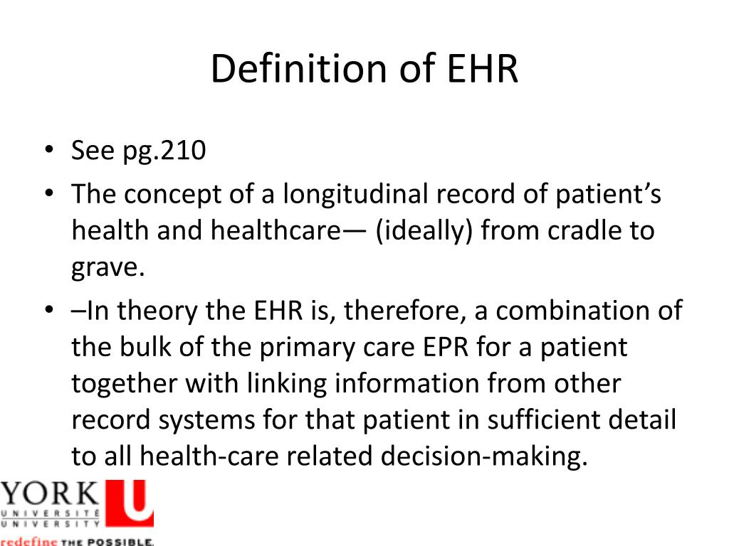 PPT - Electronic Health Record PowerPoint Presentation, free download - ID:1564486