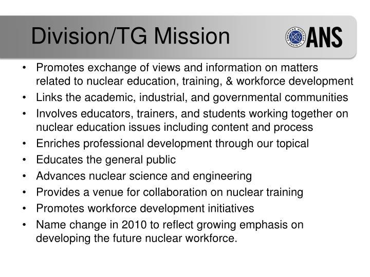 Division tg mission