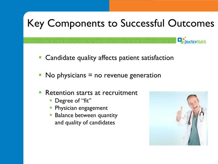 Key Components to Successful Outcomes