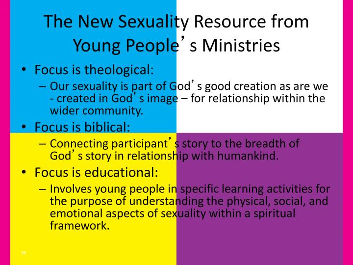 The New Sexuality Resource from Young People