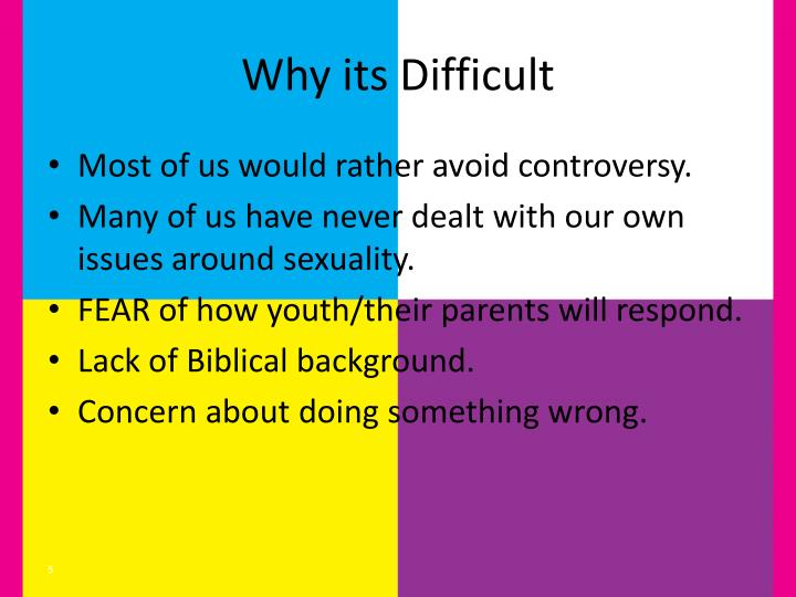 Why its Difficult