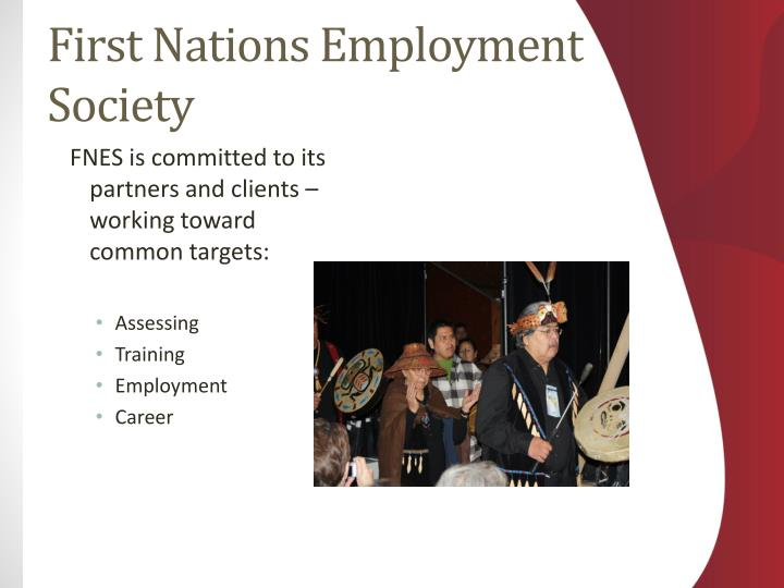 First nations employment society1