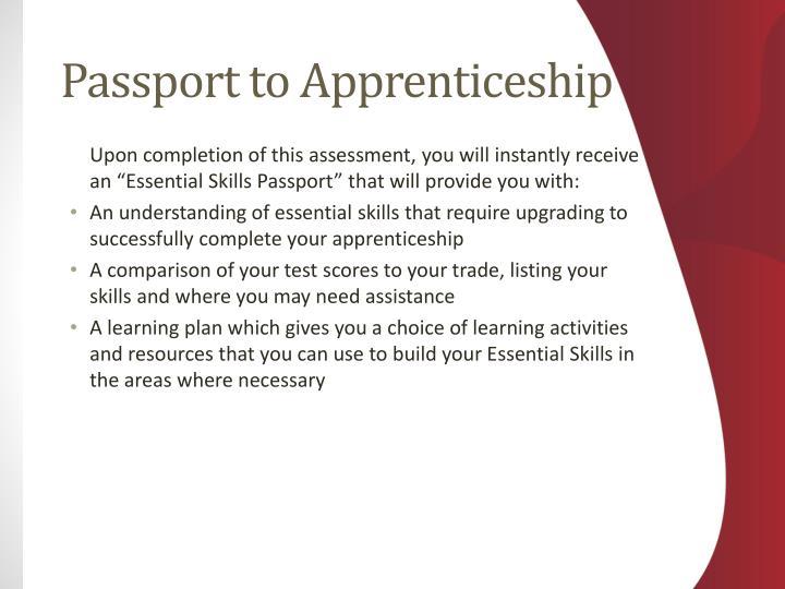 Passport to Apprenticeship