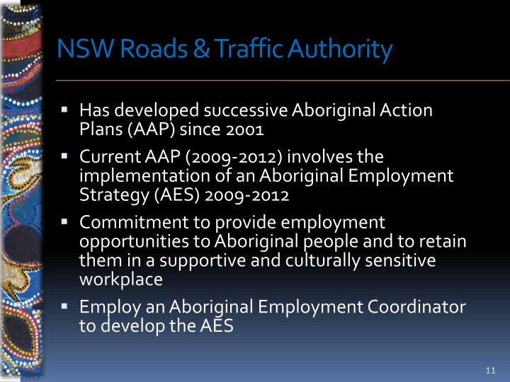 NSW Roads & Traffic Authority