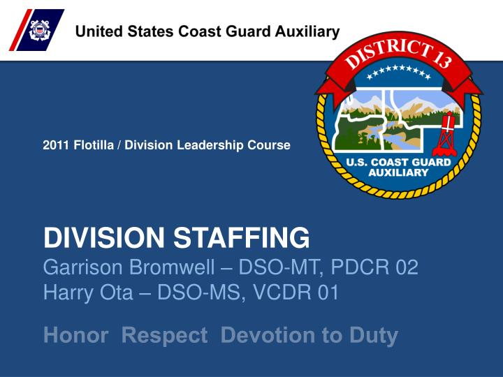 division staffing n.