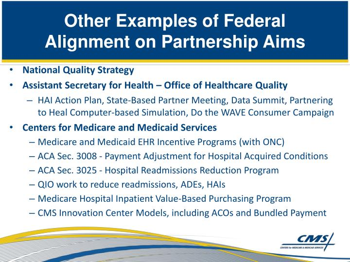 Other Examples of Federal