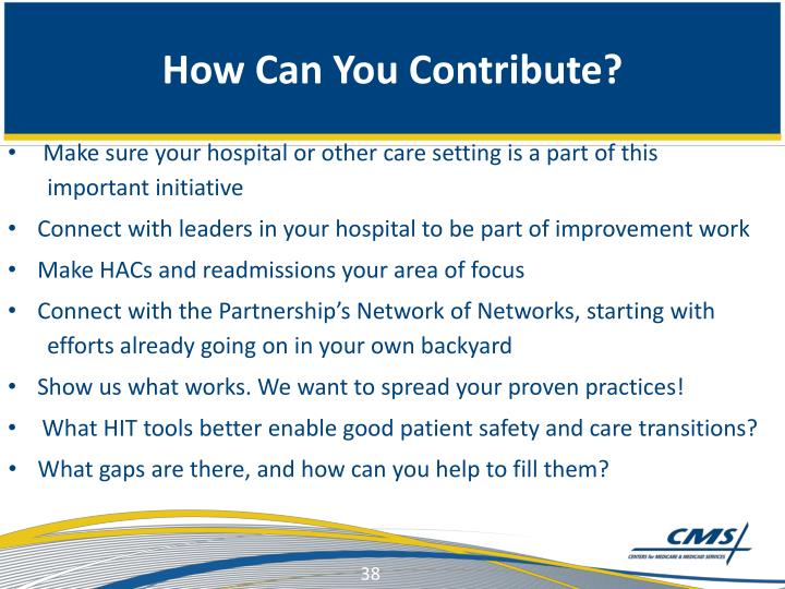 How Can You Contribute?