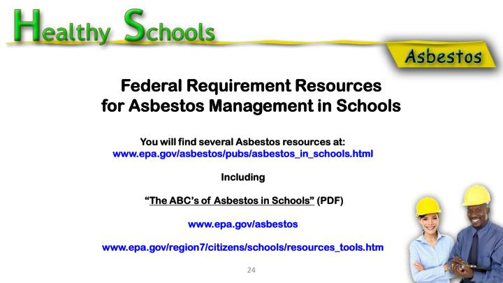 Federal Requirement Resources
