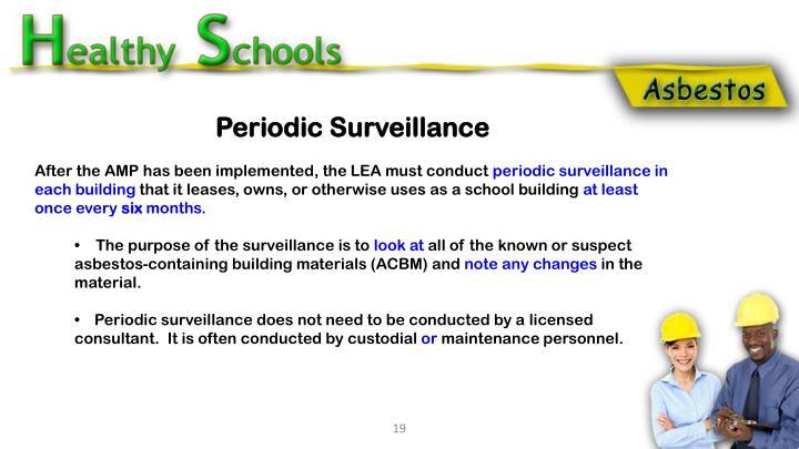 Periodic Surveillance