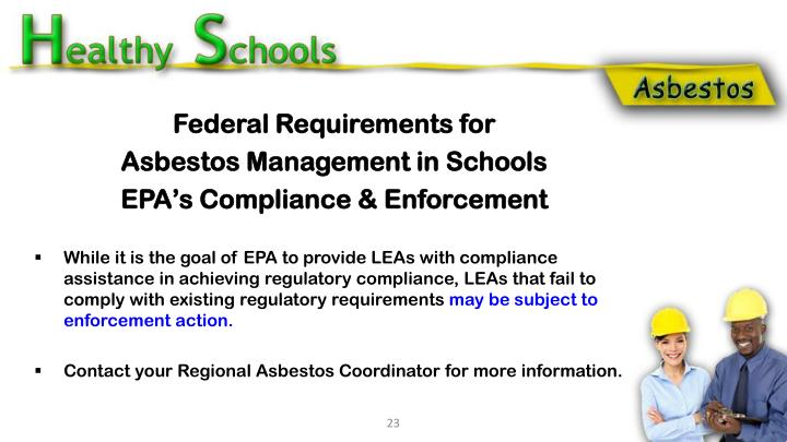 Federal Requirements for