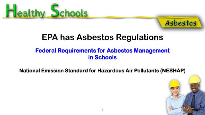 Federal Requirements for Asbestos Management