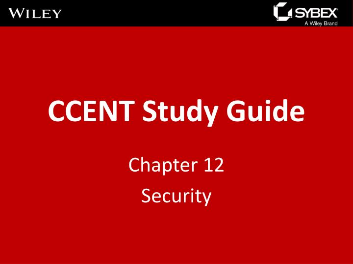 ccent study guide n.