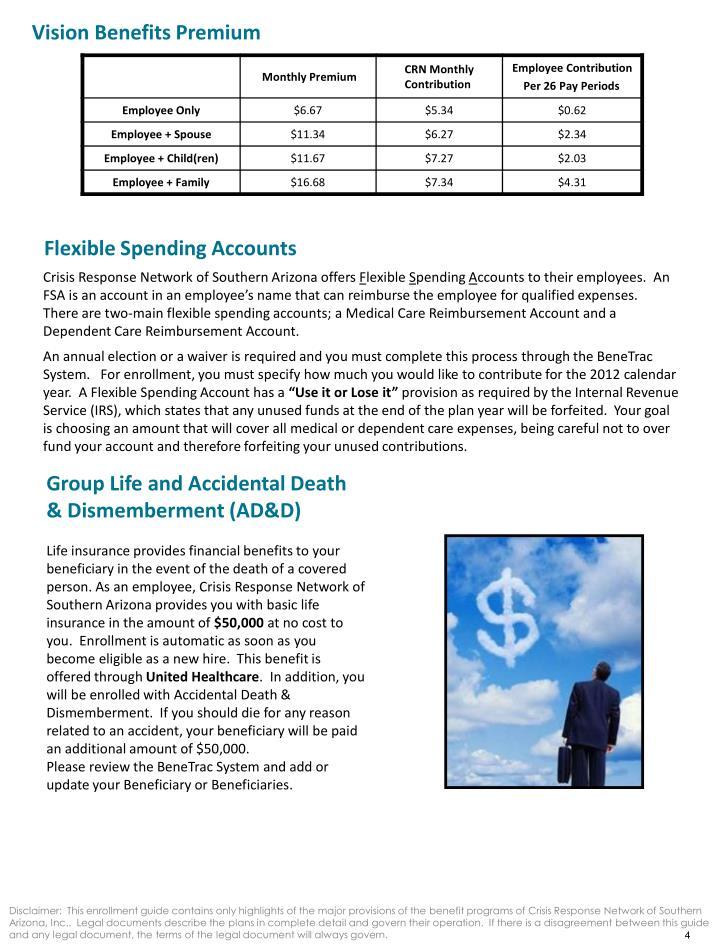 Vision Benefits Premium