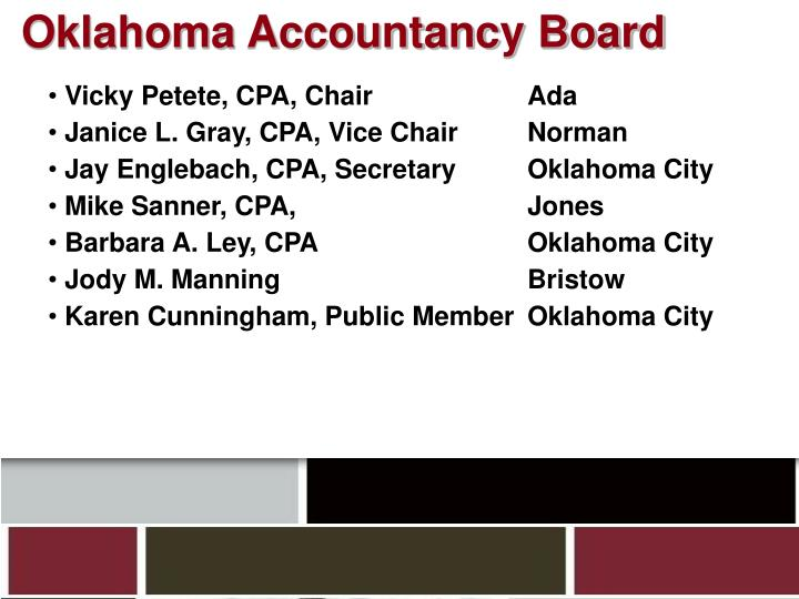 Oklahoma Accountancy Board