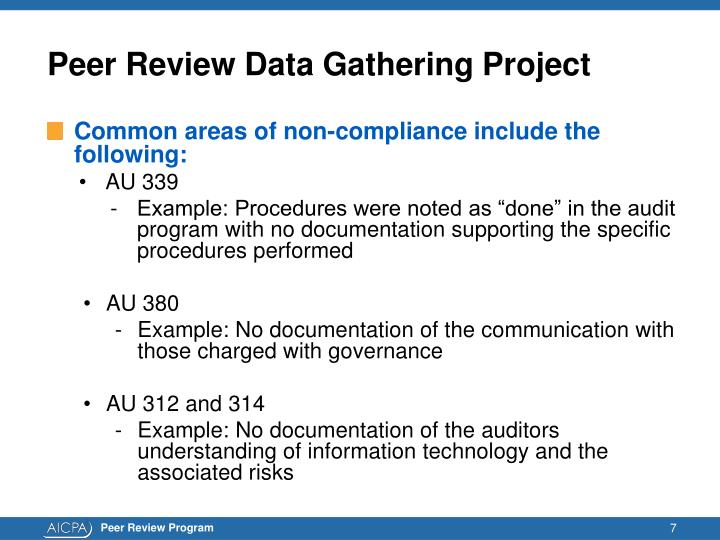 Peer Review Data Gathering Project
