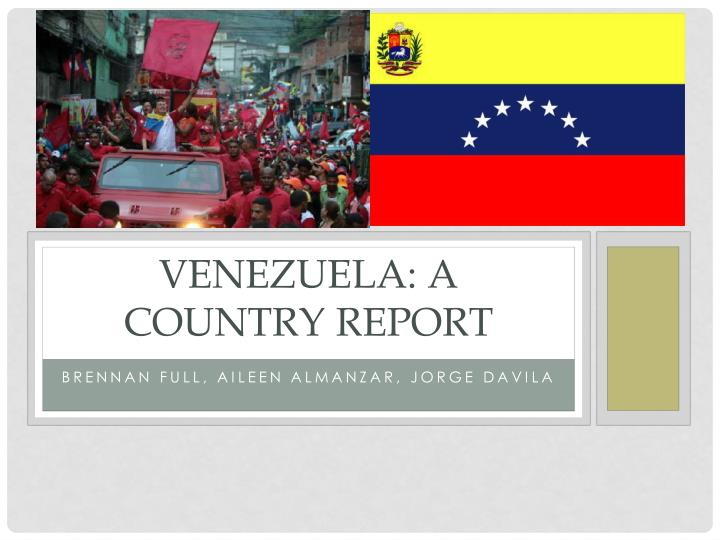venezuela a country report n.