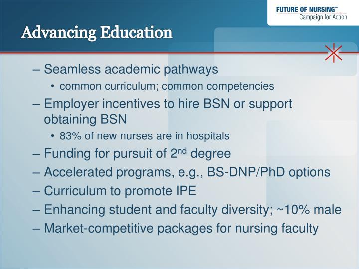 Advancing Education