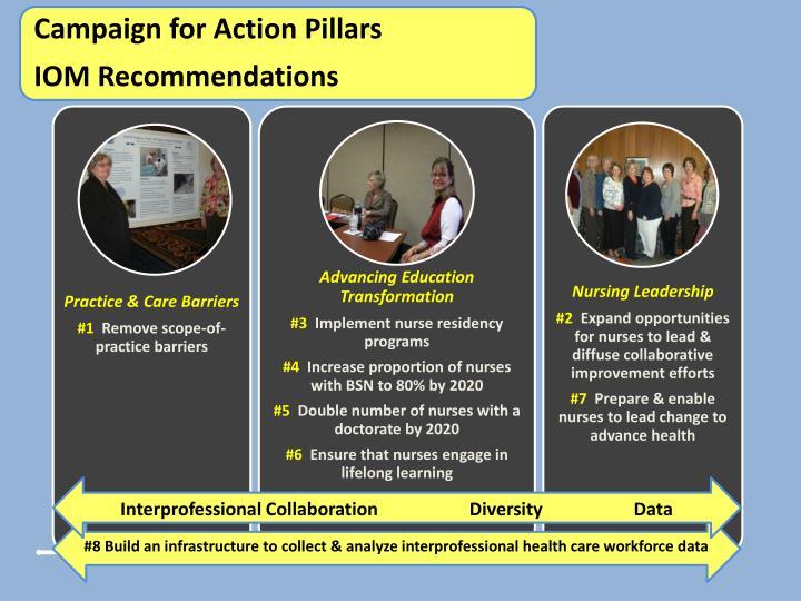 Interprofessional Collaboration                    Diversity                    Data