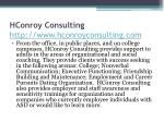 hconroy consulting http www hconroyconsulting com