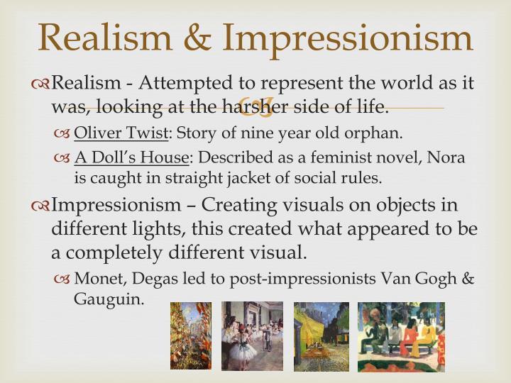 Realism & Impressionism