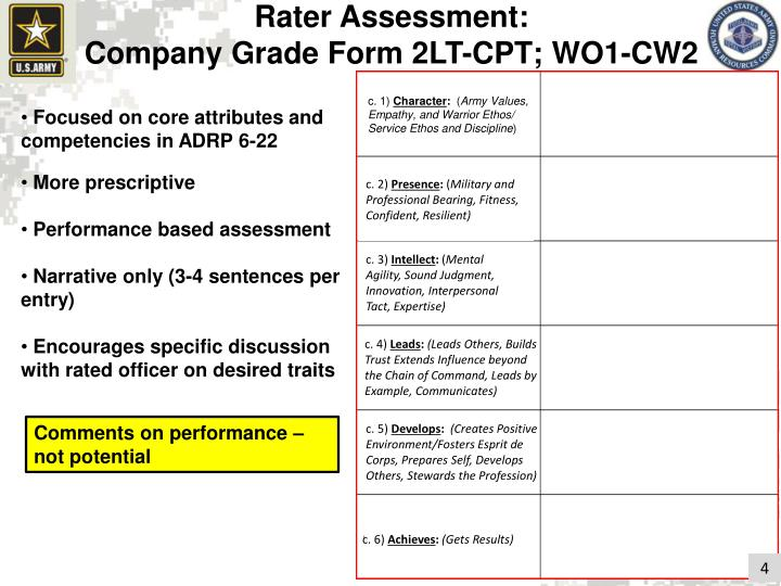 Rater Assessment: