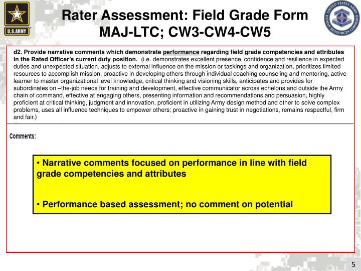 Rater Assessment: Field