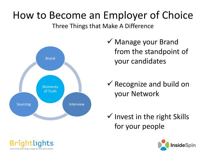 How to Become an Employer of Choice