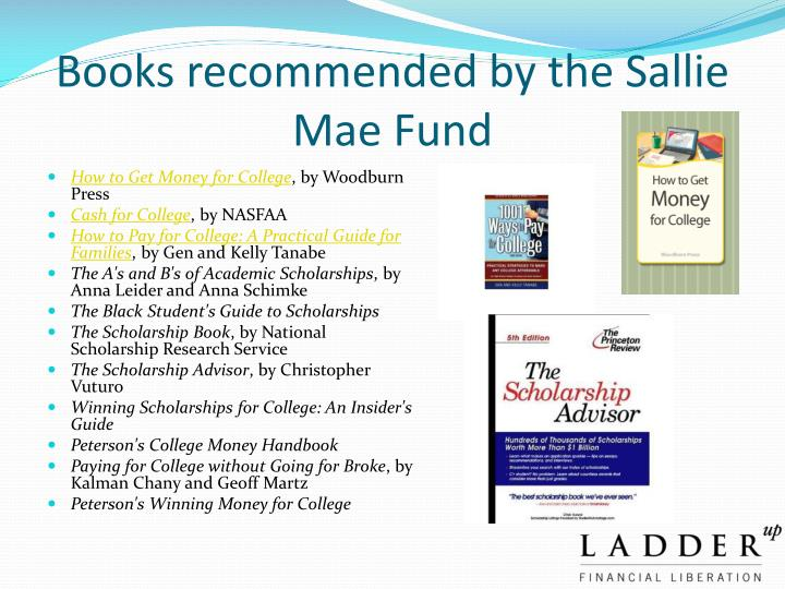 Books recommended by the Sallie Mae Fund