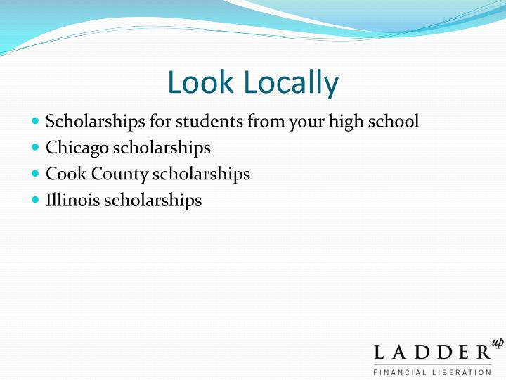 Look Locally