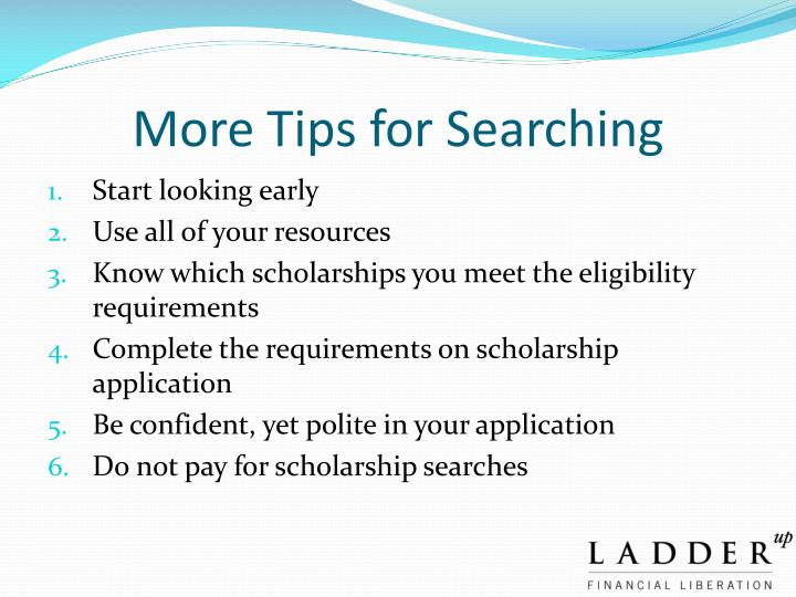 More Tips for Searching