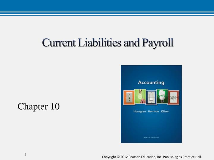 current liabilities and payroll n.
