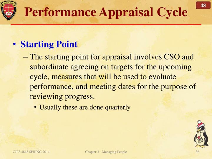 Performance Appraisal Cycle