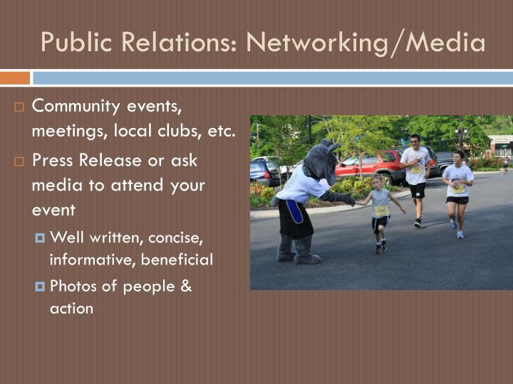 Public Relations:
