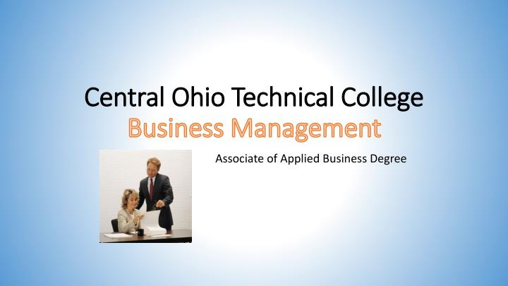 central ohio technical college business management n.