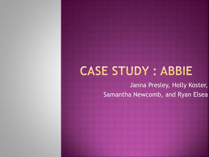 case study 5 ppt Cases written through the stanford graduate school of business (gsb) that highlight challenges faced and innovations created by leading philanthropic institutions and individuals.