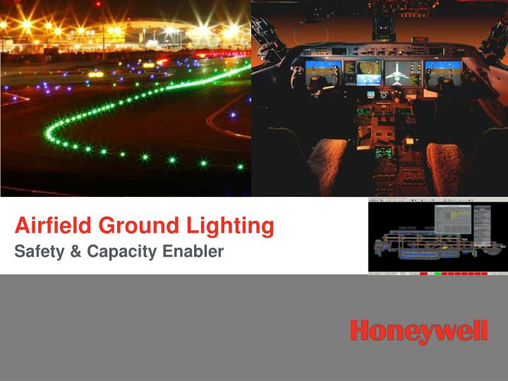 airfield ground lighting n.