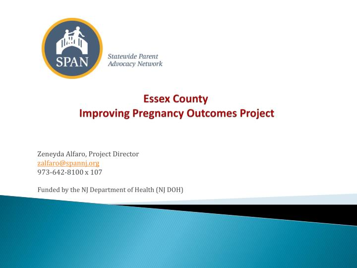 essex county improving pregnancy outcomes project n.
