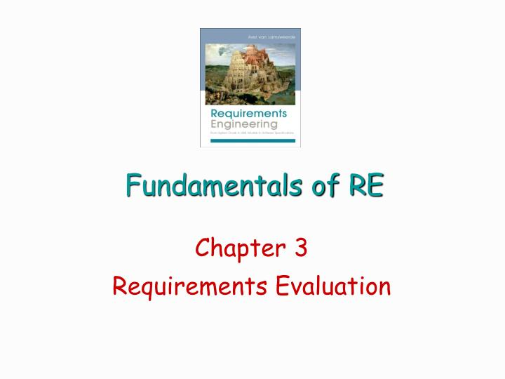 fundamentals of re n.