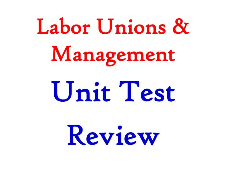 unions and management Unions make sure the hiring process is objective, so management can't just hire and promote their friends harm the employer people who form a union are more satisfied and productive at work.