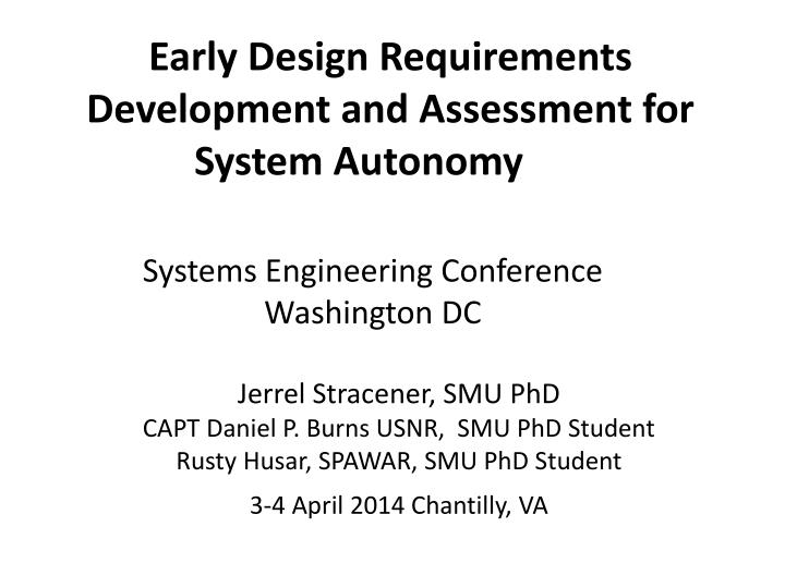 systems engineering conference washington dc n.