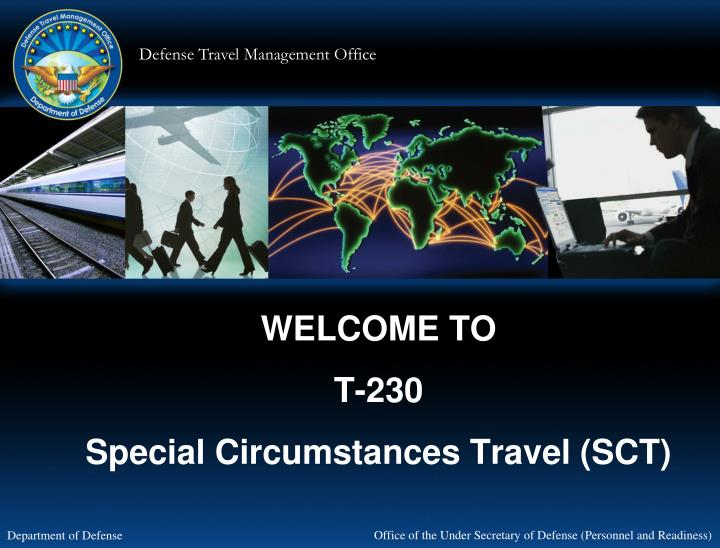 welcome to t 230 special circumstances travel sct n.