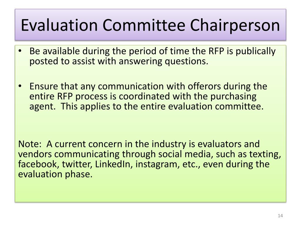 PPT - The RFP Selection Process PowerPoint Presentation - ID:1566336