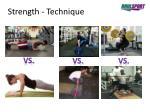 strength technique