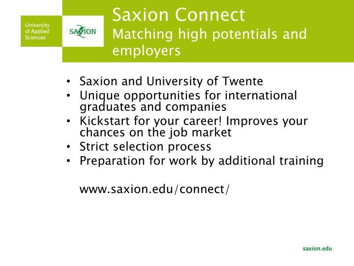 Saxion Connect
