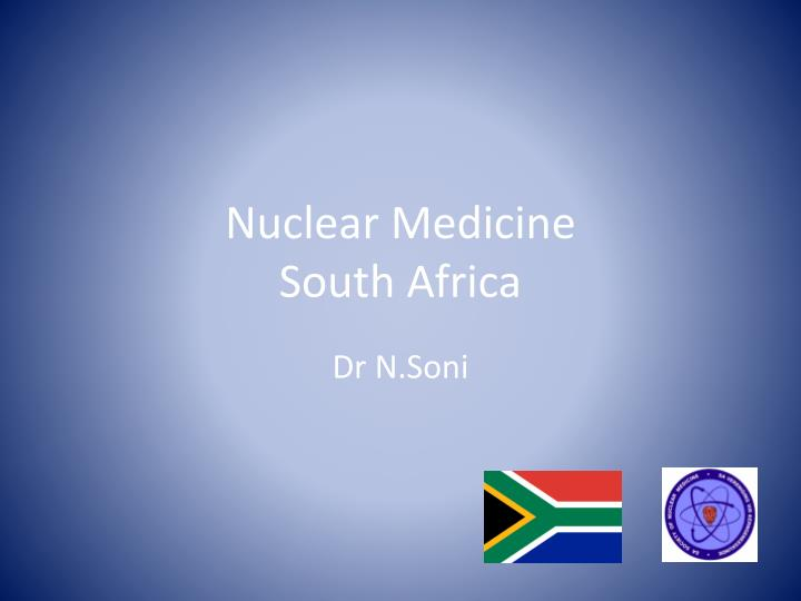 nuclear medicine south africa n.