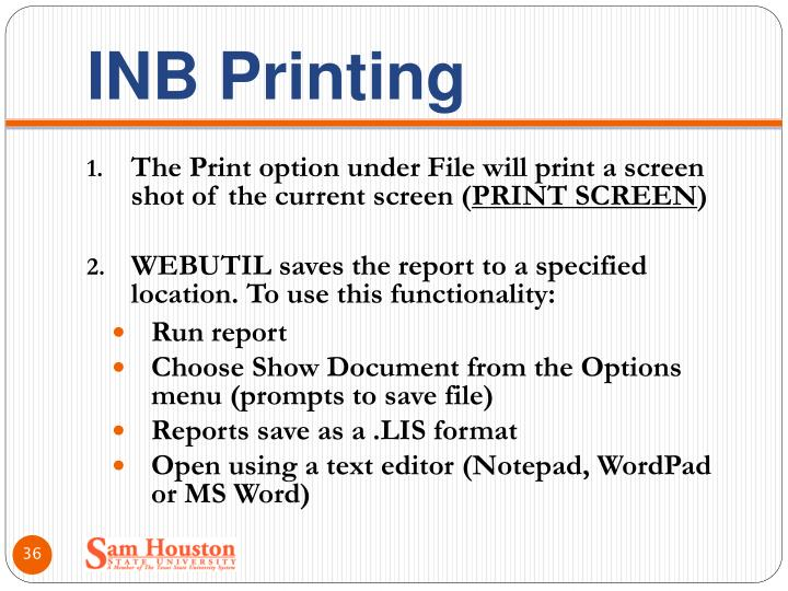INB Printing